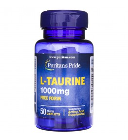Puritan's Pride L-Tauryna 1000 mg - 50 tabletek