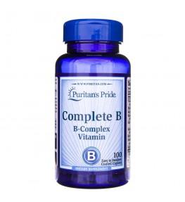 Puritan's Pride Complete B (Kompleks witamin B) - 100 tabletek