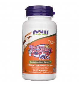 Now Foods BerryDophilus™ Kids - 60 tabletek