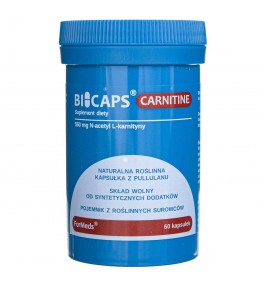Formeds Bicaps Carnitine - 60 kapsułek
