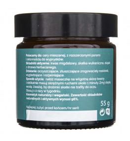 Fitomed Maseczka - peeling z kwasem migdałowym do cery mieszanej - 55 g