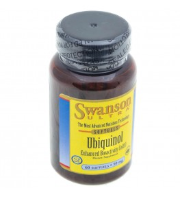 Swanson Ubiquinol (Ubichinol ) 50 mg - 60 kapsułek