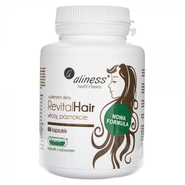 Aliness RevitalHair włosy, paznokcie - 60 kapsułek