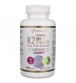 Progress Labs Witamina K2 Vita-MK7 200 mcg - 120 kapsułek