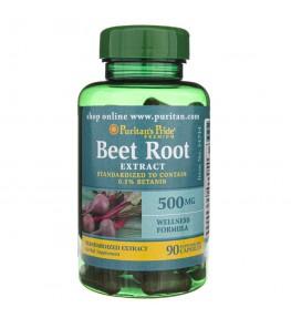 Puritan's Pride Beet Root (Burak Czerwony) 500 mg - 90 kapsułek
