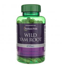 Puritan's Pride Wild Yam (Dziki Pochrzyn) 450 mg - 100 kapsułek