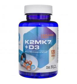 Hepatica Witamina K2mk7 + D3 - 120 kapsułek