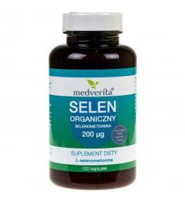 Medverita Selen Organiczny L-Selenometionina 200 µg - 120 kapsułek