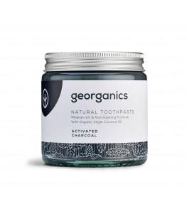 Georganics Mineralna pasta do zębów z węglem aktywnym - 60 ml