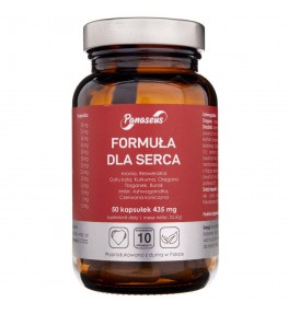 Panaseus Formuła dla serca 435 mg - 50 kapsułek