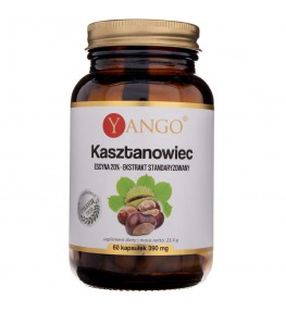 Yango Kasztanowiec 20% escyny - 60 kapsułek