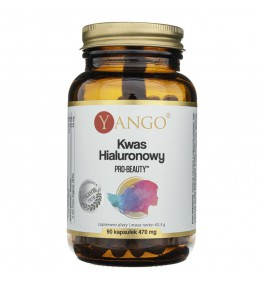 Yango Kwas Hialuronowy Pro-Beauty™ - 90 kapsułek