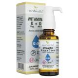 Medverita Witamina K MK-7 K2&Olive™ 20 µg + D 400 IU - 30 ml
