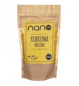 Nanovital Kurkuma mielona - 250 g