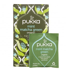 Pukka Herbata Mint Matcha Green - 20 saszetek