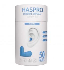 Haspro Tube50 Stopery do uszu Niebieskie - 50 par