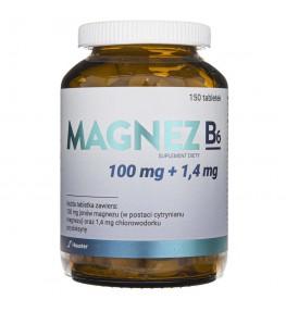 Hauster Magnez B6 - 150 tabletek
