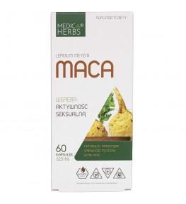 Medica Herbs Maca 620 mg - 60 kapsułek