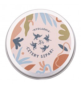 Cztery Szpaki Okrągła puszka na szampon i odżywkę - 1 sztuka