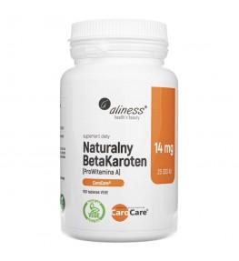 Aliness Naturalny BetaKaroten 14 mg - 100 tabletek