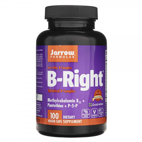 Jarrow Formulas B-Right (B-Complex) - 100 kapsułek