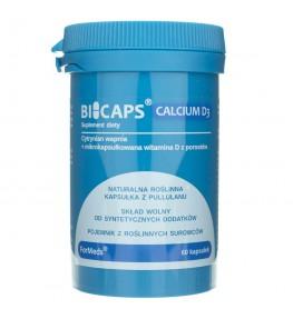 Formeds Bicaps Calcium D3 - 60 kapsułek