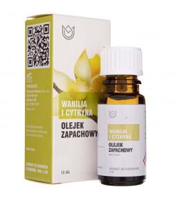 Naturalne Aromaty olejek zapachowy Wanilia i Cytryna - 12 ml