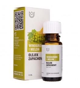 Naturalne Aromaty olejek zapachowy Winogrono i Melon - 12 ml