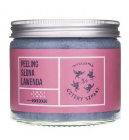 Cztery Szpaki Peeling solny Słona lawenda - 250 ml