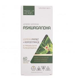 Medica Herbs Ashwagandha 500 mg - 60 kapsułek