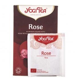 Yogi Tea Rose Herbatka róża - 17 saszetek