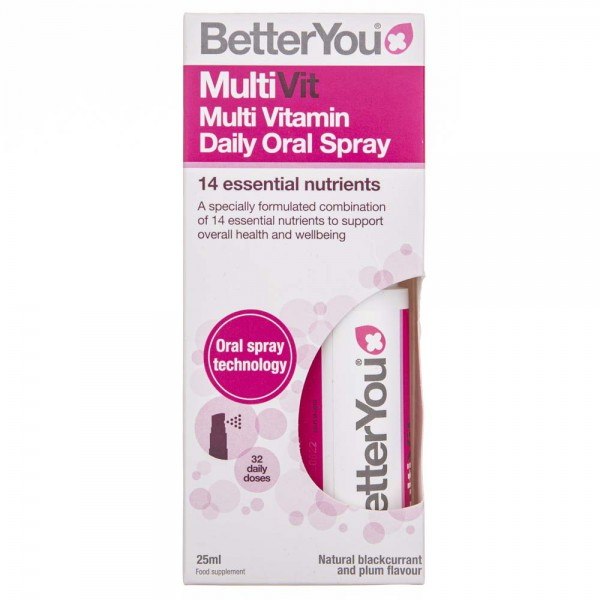 BetterYou MultiVit multiwitamina w sprayu - 25 ml