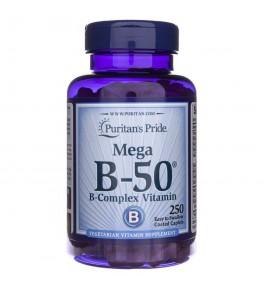 Puritan's Pride Witamina B-50® Complex - 250 tabletek