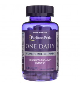 Puritan's Pride One Daily Multiwitamina dla kobiet - 100 tabletek