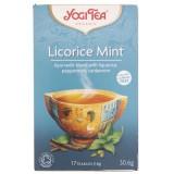 Yogi Tea Licorice Mint Herbatka mięta z lukrecją - 17 saszetek