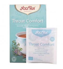 Yogi Tea Throat Comfort Herbatka na gardło - 17 saszetek