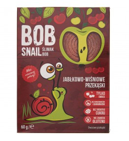 Bob Snail Przekąska jabłkowo-wiśniowa bez dodatku cukru - 60 g