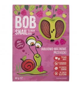 Bob Snail Przekąska jabłkowo-malinowa bez dodatku cukru - 60 g