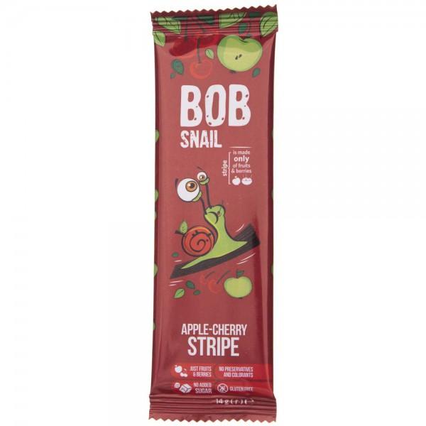 Bob Snail Przekąska jabłkowo-wiśniowa bez dodatku cukru - 14 g