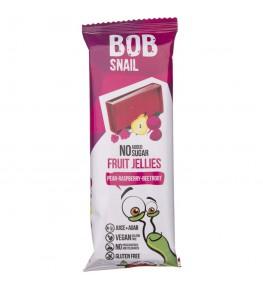 Bob Snail Przekąska galaretka gruszka-malina-burak bez dodatku cukru - 38 g