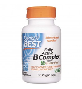 Doctor's Best Fully Active B-Complex - 30 kapsułek