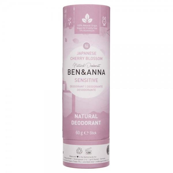 Ben&Anna Naturalny dezodorant bez sody Japanese Sherry Blossom - 60 g