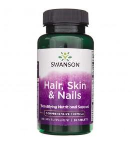 Swanson Włosy, skóra, paznokcie (Hair, Skin, Nails) - 60 tabletek