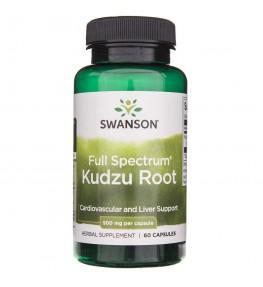 Swanson Kudzu Root (korzeń) 500 mg - 60 kapsułek