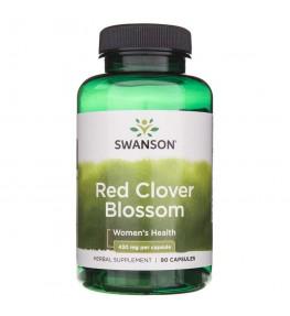 Swanson Red Clover Blossom (Czerwona koniczyna) 430 mg - 90 kapsułek