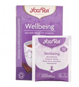 Yogi Tea Wellbeing Herbata na dobre samopoczucie - 17 saszetek