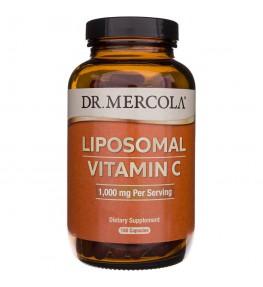 Dr Mercola Witamina C liposomalna - 180 kapsułek