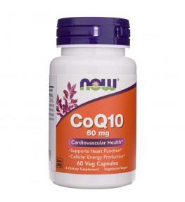 Now Foods Koenzym Q10 60 mg - 60 kapsułek