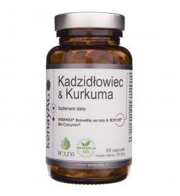 Kenay Kadzidłowiec i Kurkuma (AKBAMAX® + BCM-95®) - 90 kapsułek