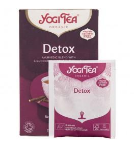 Yogi Tea Detox Herbata oczyszczająca - 17 saszetek